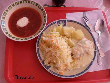 Rote  Bete Suppe Birzai