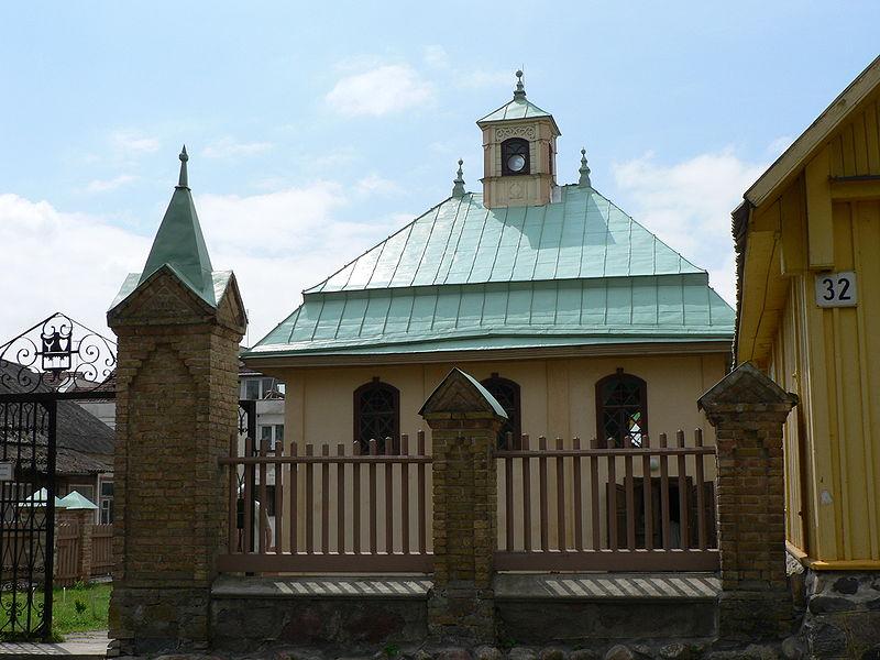 Kenesa synagoge der karäer in trakai eine zweite steht in vilnius