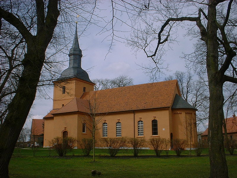 kirche in ribeck havelland